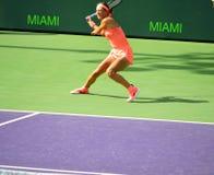Victoria Azarenka öppna Miami 2018 Royaltyfria Bilder