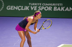 Victoria azarenka. At the wta istanbul Royalty Free Stock Photography