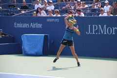 Victoria Azarenka. World no 1 female tennis player Victoria Azarenka during training session for the 2012 US Open , New York Royalty Free Stock Photo