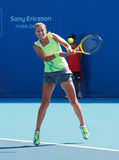 Victoria Azarenka of Belarus in action royalty free stock image