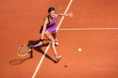 Victoria Azarenka chez Roland Garros 2011 Image stock
