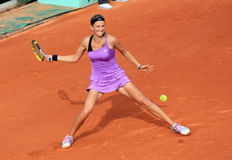 Victoria Azarenka at Roland Garros 2011 Royalty Free Stock Images
