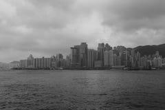 Victoria bay, hong kong Stock Photos