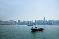 Victoria Bay, Kowloon Royalty Free Stock Photo