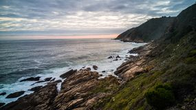 Victoria bay shore royalty free stock images