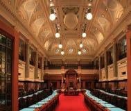 Victoria BC, corridoio del Parlamento Fotografie Stock Libere da Diritti