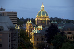 Victoria BC evening Royalty Free Stock Images