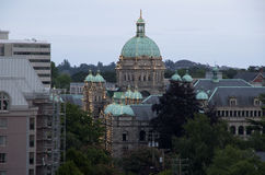 Victoria BC evening Stock Photography
