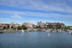 Victoria-BC innerer Hafen Lizenzfreies Stockfoto