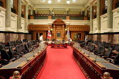 Victoria BC Parliament Legislative Assembly Chamber Royalty Free Stock Photo