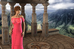 Victoria - Beautiful Medieval Princess at Castle Camelot - Image 3 Stock Photos
