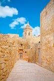 Victoria-bolwerk, IRL-Rabat Gozo, Malta stock afbeeldingen