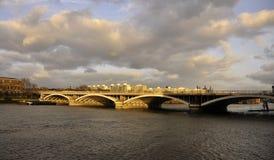 Victoria-Brücke Lizenzfreie Stockfotos