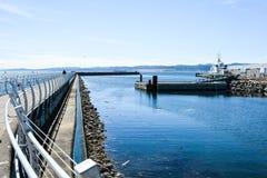 Victoria Breakwater Arkivfoton