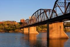 Victoria Bridge Royalty Free Stock Photography