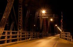 Victoria bridge in Montreal Royalty Free Stock Image
