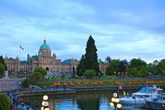 Victoria British Columbia Canada Parliament Stock Photos