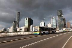 Victoria-brug in Brisbane Stock Afbeeldingen