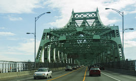 Victoria brug-Montreal Stock Foto's
