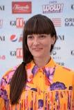 Victoria Cabello at Giffoni Film Festival 2018 stock photo
