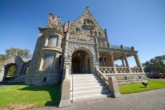 VICTORIA, CANADÁ - 15 DE AGOSTO DE 2017: Exterior do castelo de Craigdarroch Fotos de Stock