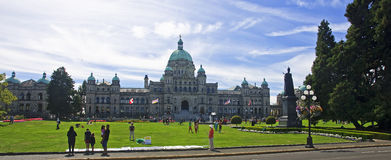 VICTORIA, CANADA - AUGUST 27, 2016: Legislative Assembly on 27 A Royalty Free Stock Image