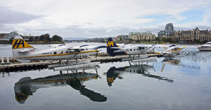 VICTORIA, CANADA - AUGUST 28, 2016: Victoria Harbour Airport on Stock Photo