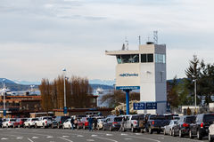 Victoria - Canada, Circa 2017: Queues at BC Ferries Terminal Royalty Free Stock Images