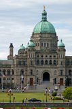 Victoria Canada. Downtown Area of Victoria Canada in the Summer months while touring Stock Photography