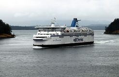 BC Ferries Victoria-Vancouver stock photography