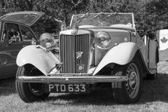 Classic British Cars Royalty Free Stock Photos