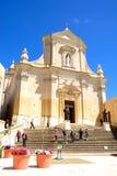 Victoria Cathedral, Gozo Photo stock
