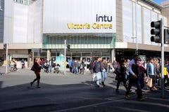 Victoria Centre Nottingham Royaltyfria Bilder