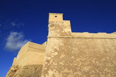 Victoria citadel in Gozo. Malta Royalty Free Stock Photo