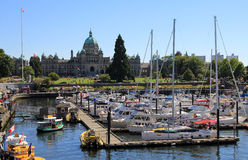 Victoria City Royaltyfria Bilder