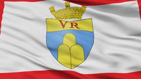 Victoria City Flag, Malta, Gozo Island, Closeup View. Victoria City Flag, Country Malta, Gozo Island, Closeup View Royalty Free Stock Image