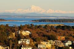 Victoria city by sea Stock Image