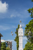 Victoria Clock Tower, Mahe, Seychelles Royalty Free Stock Image