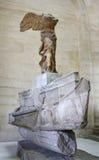 Victoria coa alas de Samothrace Fotografía de archivo libre de regalías