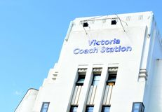 Victoria Coach Station Royalty-vrije Stock Afbeeldingen