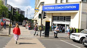 Victoria Coach Station Royalty Free Stock Images