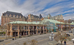 Victoria Conference Centre. VICTORIA, BC - CIRCA APRIL 2014 - The Victoria Conference Centre is a conference centre located in Victoria, British Columbia Stock Image