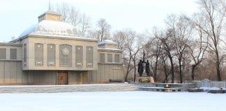 Victoria conmemorativa del museo Ciudad Krasnoyarsk Fotografía de archivo