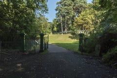 Victoria Country Park militär kyrkogårdingång Royaltyfria Foton