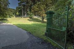 Victoria Country Park militär kyrkogårdingång Arkivfoton