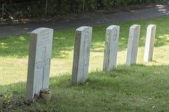 Victoria Country Park militärkyrkogård Arkivbilder