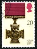 Victoria Cross UK Postage Stamp Royalty Free Stock Photo