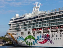 Victoria Cruise Ship Fotografía de archivo libre de regalías