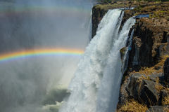 Victoria-dalingenlivingstone, Zambia Stock Foto's