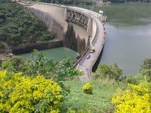Victoria Dam - Sri Lanka photographie stock libre de droits